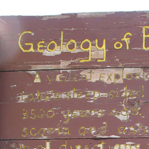 Geology of Blue Lake