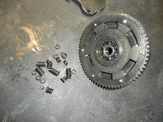Gear Assembly - Broken Springs