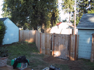 Moving Fence-nearly Done